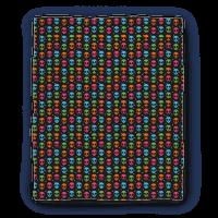 Alien Emoji Pattern Blanket