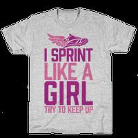I Sprint Like A Girl (Try To Keep Up)
