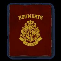Hogwarts Alumni Crest Gryffindor Blanket