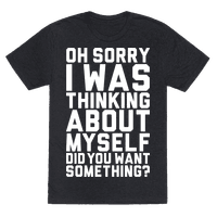 Thinking About Myself