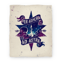 Per Aspera Ad Astra Blanket