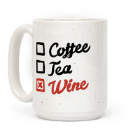 Coffee, Tea, And Wine Checklist