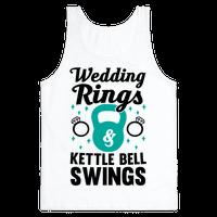 Wedding Rings & Kettle Bell Swings