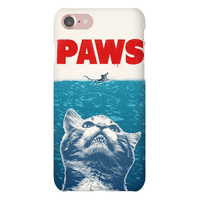 PAWS (JAWS Parody) Iphone Case Phonecase