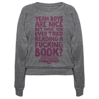 Yeah Boys Are Nice But Have You Tried Books