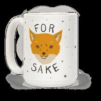 For Foxsakes Mug