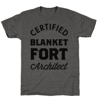 Certified Blanket Fort Architect