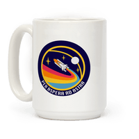 Per Aspera Ad Astra Vintage Logo Mug