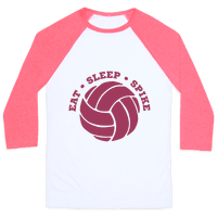 Eat Sleep Spike (Volleyball)
