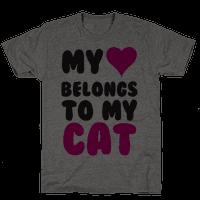 My Heart Belongs To My Cat