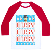 Busy Busy Busy Frosty Ugly Sweater