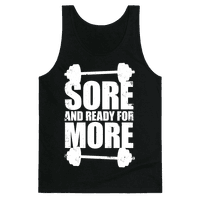 Sore And Ready For More