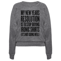 My New Years Resolution Is To Stop Buying Ironic Shirts