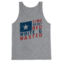 Red White And Wasted (Vintage Tank)