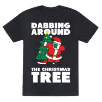 Dabbing Around The Christmas Tree Tee