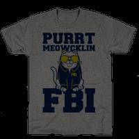 Purrt Meowcklin FBI