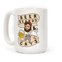 Beer, Beards and Cats Mug