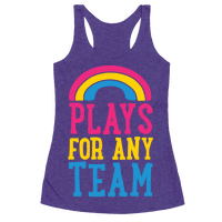 Plays For Any Team Racerback
