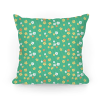 Little Floral Meadow Pattern (Green)