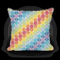 Watercolor Chakra Symbol Pattern