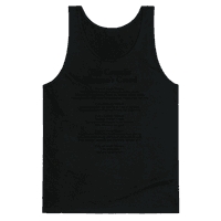 The Crossfit Woman's Creed (Dark Tank)