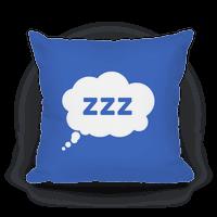 ZZZ Nap Pillow