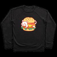Burger Cat (No Text)