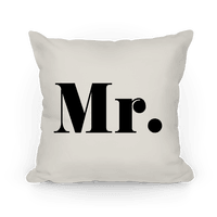 Mr. (of mr. & mrs. set)