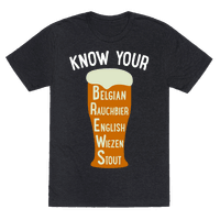 Know Your Brews Tee