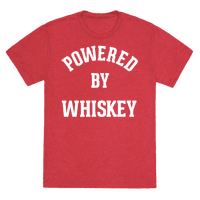 Powered By Whiskey Tee