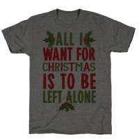 All I Want For Christmas Is To Be Left Alone