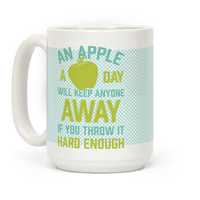 An Apple A Day Will Keep Anyone Away If You Throw It Hard Enough