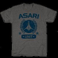 Asari Commando Unit Tee