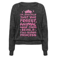 One Forest Animal Away From Being A Full-Blown Princess