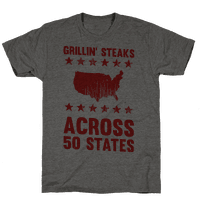 Grillin' Steaks Across 50 States