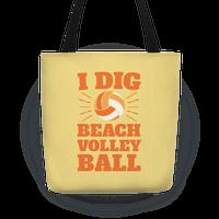 I Dig Beach Volleyball