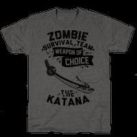 Zombie Survival Team Weapon Of Choice The Katana