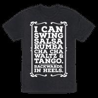 I Can Dance Backwards in Heels