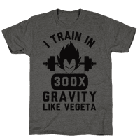 I Train In 300x Gravity Like Vegeta