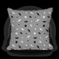 Punk Rock Pattern (Gray)
