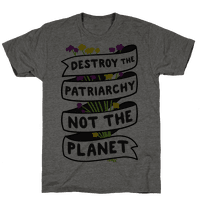 Destroy The Patriarchy Not The Planet Tee