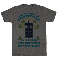 All I Want For Christmas Is To Be The Doctor's Companion