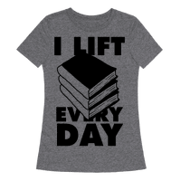 I Lift (Books) Every Day