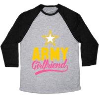 d007321b Army Girlfriend T-Shirt | LookHUMAN