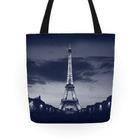 Eiffel Tower Tote (Navy)
