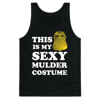 This Is My Sexy Mulder Costume (White Ink)