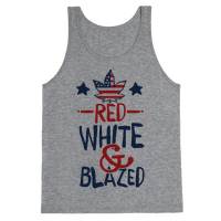 Red, White and Blazed