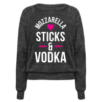 Mozzarella Sticks And Vodka