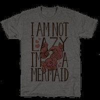 I Am Not Lazy. I'm a Mermaid!