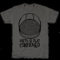 Earth Is Flat (Confirmed)